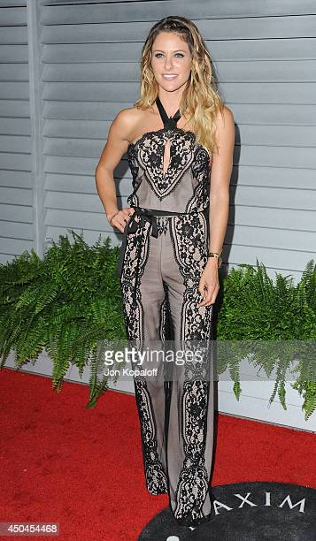 Actress Jill Wagner arrives at the MAXIM Hot 100 Celebration Event at Pacific Design Center on June 10, 2014 in West Hollywood, California.