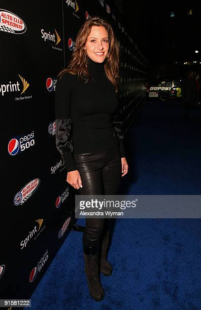 Actress Jill Wagner arrives at The Pepsi 500 Auto Club Speedway Celebration held at the Roosevelt Hotel on October 7 2009 in Hollywood California