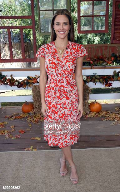 Actress Jill Wagner attends Hallmark's Home Family at Universal Studios Hollywood on October 9 2017 in Universal City California