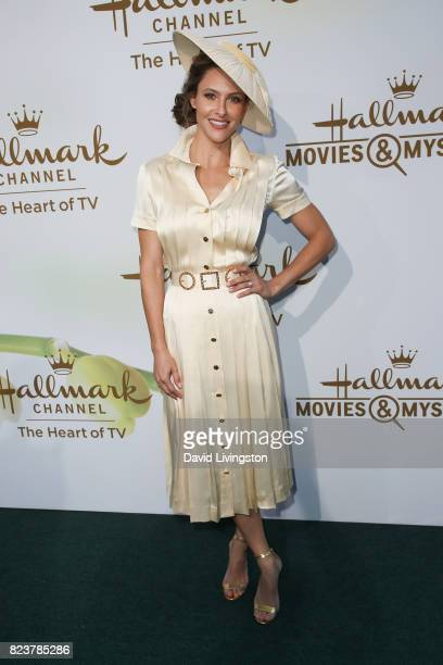 Actress Jill Wagner attends the Hallmark Channel and Hallmark Movies and Mysteries 2017 Summer TCA Tour on July 27 2017 in Beverly Hills California