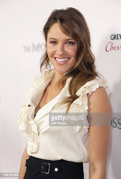 Actress Jill Wagner attends the Los Angeles Premiere of 'The Impossible' presented by Grey Goose Vodka at ArcLight Cinemas on December 10 2012 in...