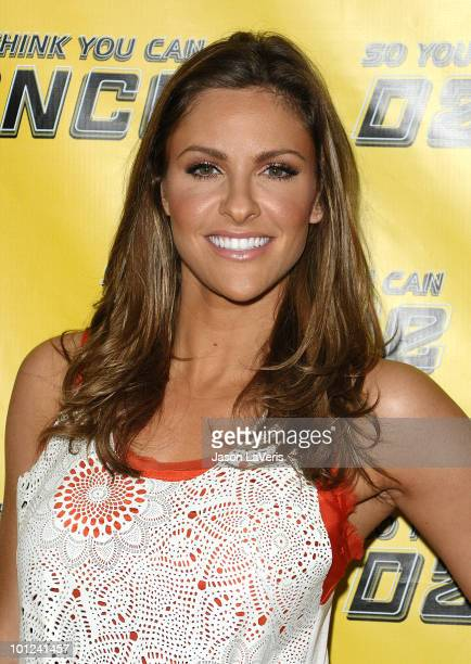Actress Jill Wagner attends the So You Think You Can Dance new season premiere viewing party at Trousdale on May 27 2010 in West Hollywood California