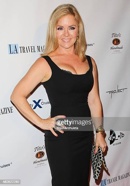 Actress Jill Whelan attends the Los Angeles Travel Magazine Endless Summer issue launch at Project on July 31, 2015 in Los Angeles, California.