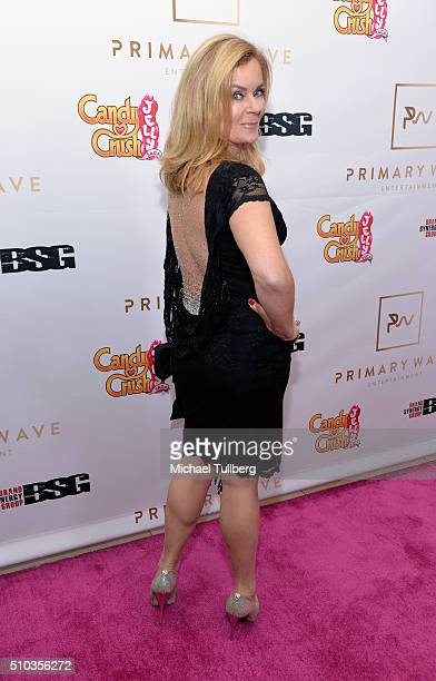 Actress Jill Whelan attends the Primary Wave 10th Annual pre-GRAMMY Party at The London West Hollywood on February 14, 2016 in West Hollywood,...