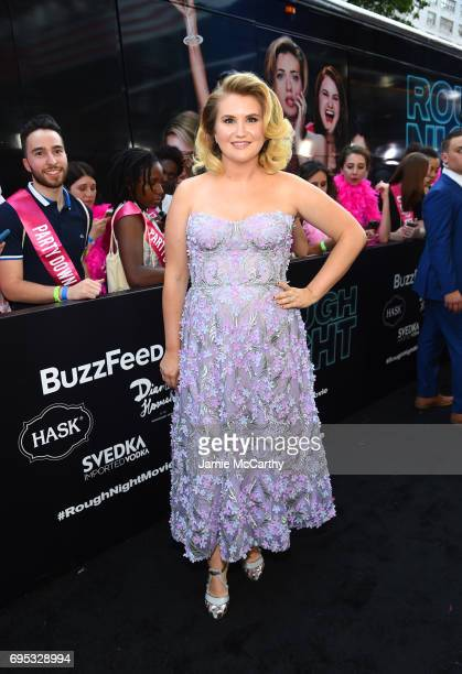 Actress Jillian Bell attends New York Premiere of Sony's ROUGH NIGHT presented by SVEDKA Vodka at AMC Lincoln Square Theater on June 12 2017 in New...