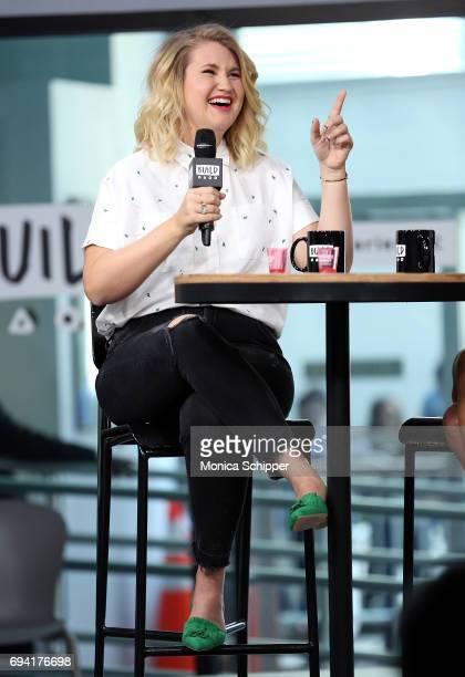 Actress Jillian Bell discusses Rough Night at Build Studio on June 9 2017 in New York City