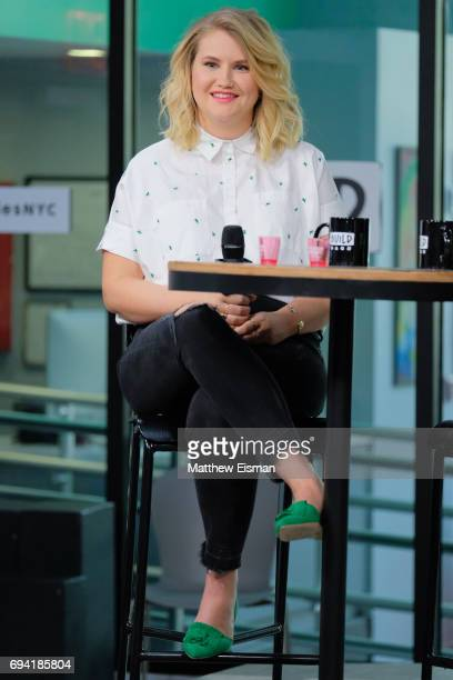 Actress Jillian Bell discusses the new film 'Rough Night' at Build Studio on June 9, 2017 in New York City.