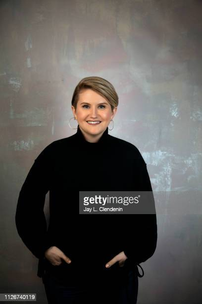 Actress Jillian Bell from 'Brittany Runs a Marathon' is photographed for Los Angeles Times on January 29 2019 at the 2019 Sundance Film Festival in...