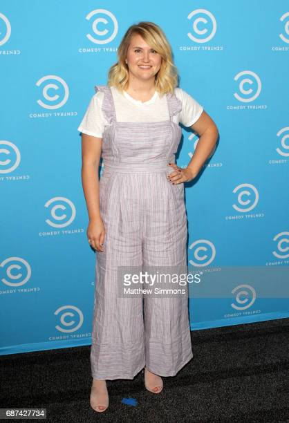 Actress Jillian Bell of 'Idiotsitter' attends Comedy Central's LA Press Day at Viacom Building on May 23 2017 in Los Angeles California