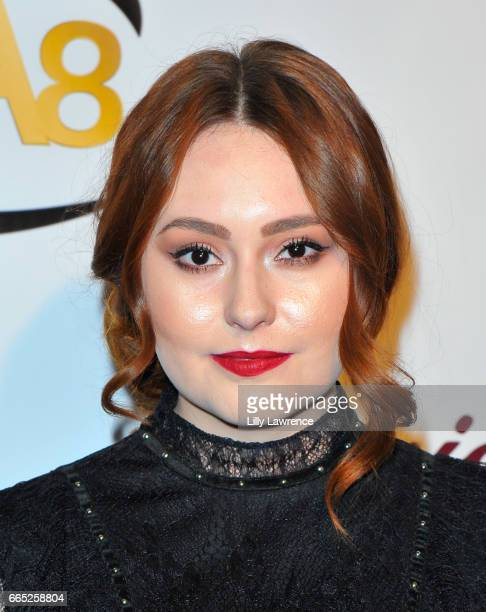 Actress Jillian Clare arrives at the 8th Annual Indie Series Awards at The Colony Theater on April 5 2017 in Burbank California