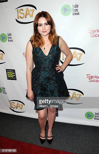 Actress Jillian Clare at the 7th Annual Indie Series Awards held at El Portal Theatre on April 6 2016 in North Hollywood California