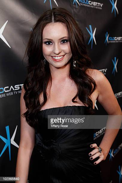 Actress Jillian Clare attends the 'Miss Behave' Premiere Launch Party at Cinespace on June 23 2010 in Hollywood California