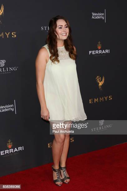 Actress Jillian Clare attends the Television Academy's cocktail reception with the Stars of Daytime Television celebrating The 69th Emmy Awards at...