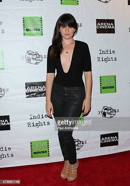 Actress Jillian Leigh attends the premiere of 'Miles To Go' at Arena Cinema Hollywood on May 15 2015 in Hollywood California