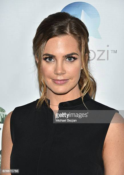 Actress Jillian Murray arrives at Not For Sale x Z Shoes Benefit at Estrella Sunset on December 9, 2016 in West Hollywood, California.
