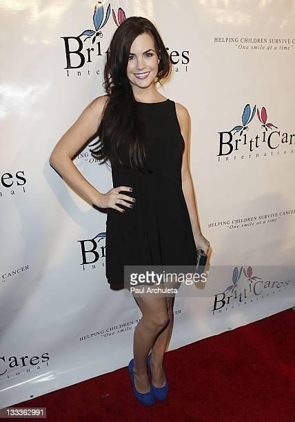 Actress Jillian Murray arrives at the Britticares International Foundation's Golden Globe Awards Post Celebration at The Green Door on January 17...