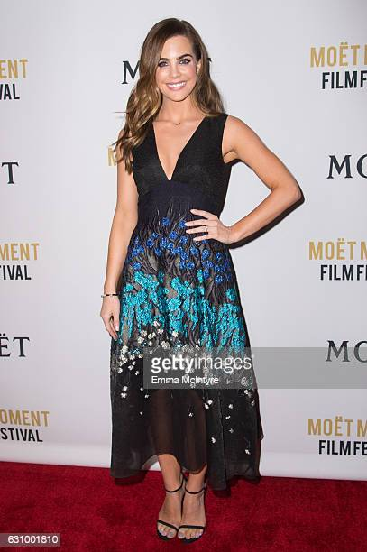 Actress Jillian Murray attends the 2nd Annual Moet Moment Film Festival and Kick Off of Golden Globes Week at Doheny Room on January 4 2017 in West...