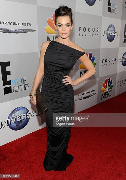 Actress Jillian Murray attends the Universal NBC Focus Features E sponsored by Chrysler viewing and after party with Gold Meets Golden held at The...