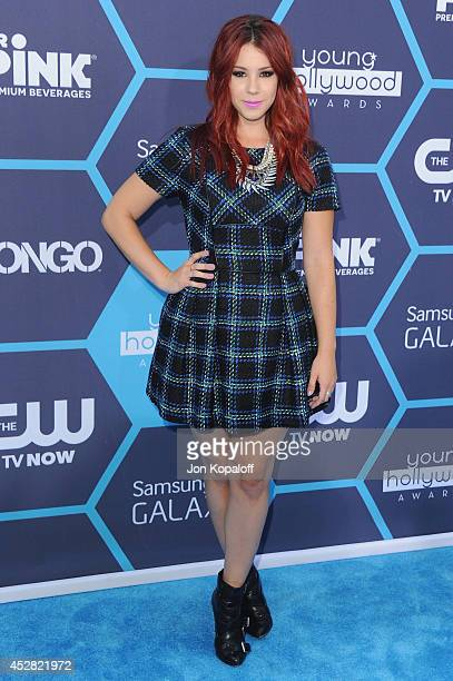 Actress Jillian Rose Reed arrives at the 16th Annual Young Hollywood Awards at The Wiltern on July 27 2014 in Los Angeles California