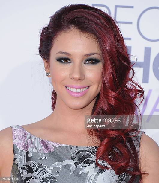 Actress Jillian Rose Reed arrives at The 41st Annual People's Choice Awards at Nokia Theatre LA Live on January 7 2015 in Los Angeles California