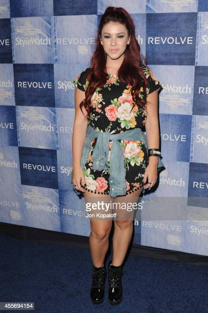 Actress Jillian Rose Reed arrives at the People StyleWatch 4th Annual Denim Awards Issue at The Line on September 18, 2014 in Los Angeles, California.
