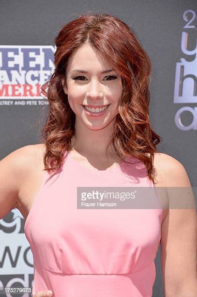 Actress Jillian Rose Reed attends CW Network's 2013 Young Hollywood Awards presented by Crest 3D White and SodaStream held at The Broad Stage on...