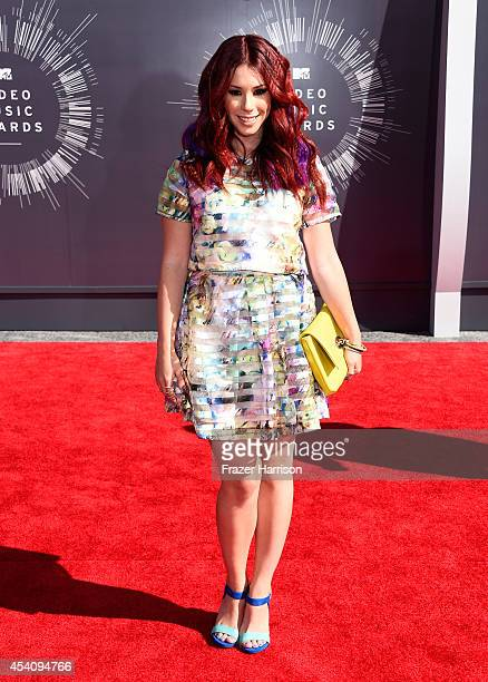 Actress Jillian Rose Reed attends the 2014 MTV Video Music Awards at The Forum on August 24 2014 in Inglewood California