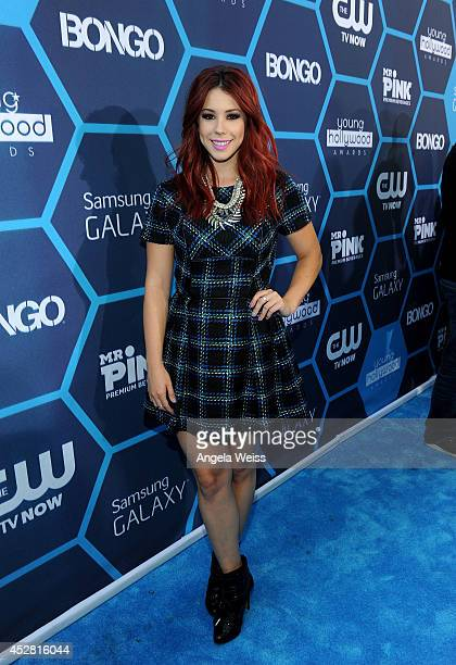 Actress Jillian Rose Reed attends the 2014 Young Hollywood Awards brought to you by Samsung Galaxy at The Wiltern on July 27 2014 in Los Angeles...