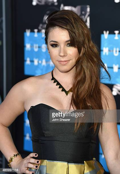 Actress Jillian Rose Reed attends the 2015 MTV Video Music Awards at Microsoft Theater on August 30 2015 in Los Angeles California