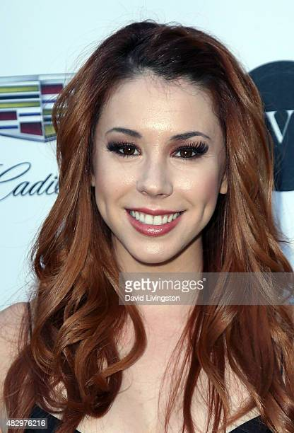 Actress Jillian Rose Reed attends the 2nd Annual Ivy Innovator Film Awards at Smogshoppe on August 4 2015 in Los Angeles California