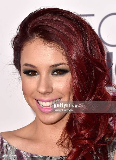 Actress Jillian Rose Reed attends The 41st Annual People's Choice Awards at Nokia Theatre LA Live on January 7 2015 in Los Angeles California
