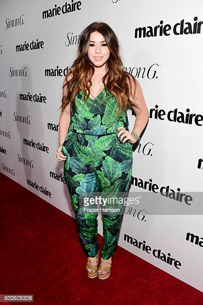 Actress Jillian Rose Reed attends the 'Fresh Faces' party hosted by Marie Claire celebrating the May issue cover stars on April 11 2016 in Los...