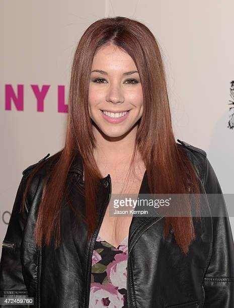 Actress Jillian Rose Reed attends the NYLON Young Hollywood Party presented by BCBGeneration at HYDE Sunset Kitchen Cocktails on May 7 2015 in West...