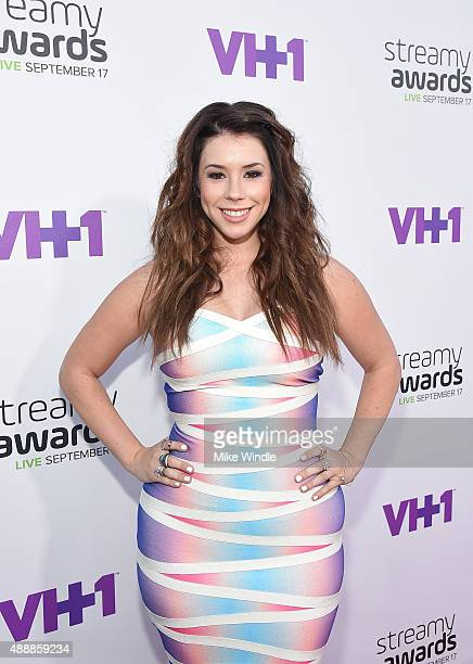 Actress Jillian Rose Reed attends VH1's 5th Annual Streamy Awards at the Hollywood Palladium on Thursday September 17 2015 in Los Angeles California