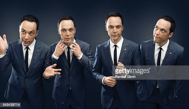 Actress Jim Parsons is photographed for Ad Week on August 27 2014 in Los Angeles California