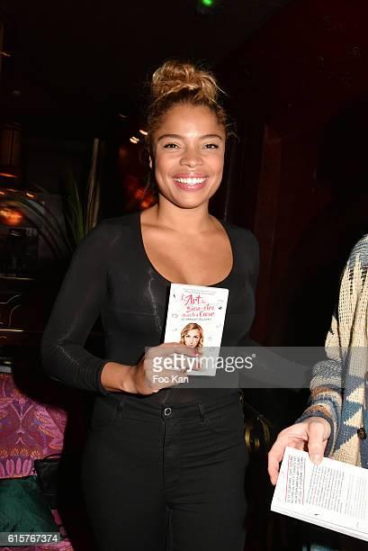 Actress Jina Djemba attends 'L'Art du Bien Etre Et Ailleurs Dans Ton Coeur' Amelie Etasse and Clement Vallos Book Launching at Buddha Bar on October...