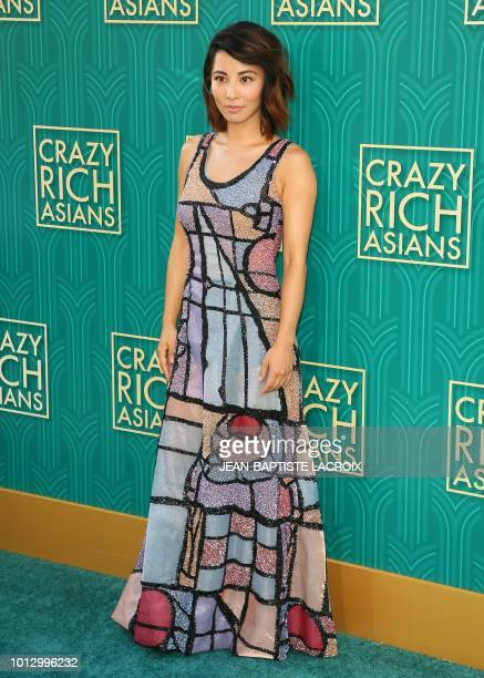 Actress Jing Lusi attends the premiere of Warner Bros Pictures' 'Crazy Rich Asians' in Hollywood California on August 7 2018