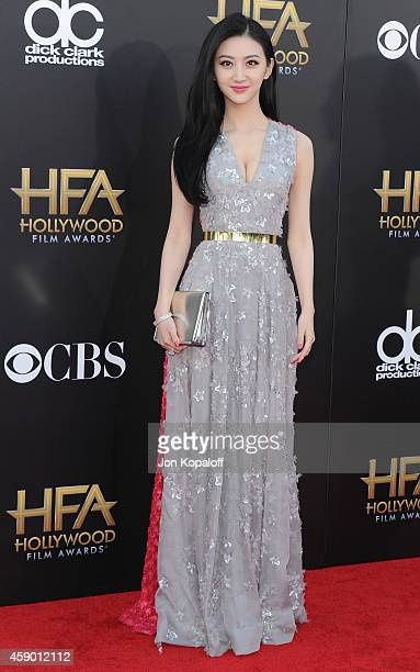 Actress Jing Tian arrives at the 18th Annual Hollywood Film Awards at Hollywood Palladium on November 14 2014 in Hollywood California