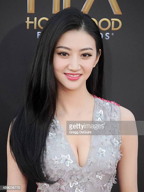 Actress Jing Tian arrives at the 18th Annual Hollywood Film Awards at The Palladium on November 14 2014 in Hollywood California