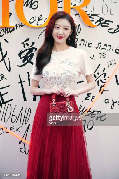 Actress Jing Tian attends Dior event on August 5 2020 in Shanghai China