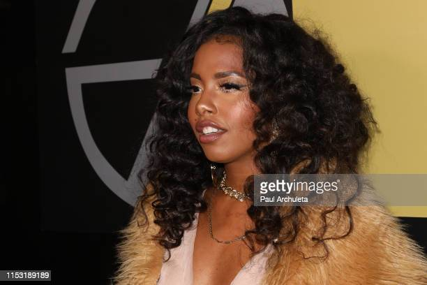 Actress Jivanta Roberts attends the birthday celebration of Javicia Leslie on June 01 2019 in Los Angeles California