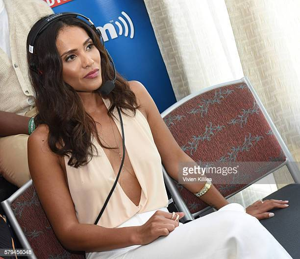 Actress JLesleyAnn Brandt attends SiriusXM's Entertainment Weekly Radio Channel Broadcasts From ComicCon 2016 at Hard Rock Hotel San Diego on July 22...