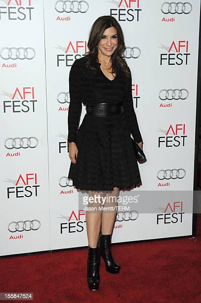 Actress Jo Champa arrives at the Lincoln premiere during AFI Fest 2012 presented by Audi at Grauman's Chinese Theatre on November 8 2012 in Hollywood...