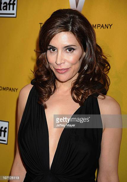 Actress Jo Champa arrives at The Weinstein Company 2010 Golden Globe After Party at The Beverly Hilton Hotel on January 17 2010 in Beverly Hills...