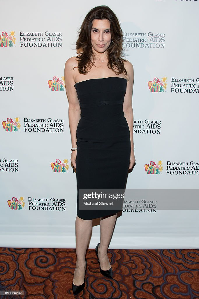 Actress Jo Champa attends Global Champions Of A Mother's Fight Awards Dinner at Mandarin Oriental Hotel on February 20, 2013 in New York City.