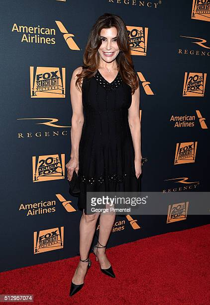 Actress Jo Champa attends the 20th Century Fox Academy Awards after party at Hollywood Athletic Club on February 28 2016 in Hollywood California
