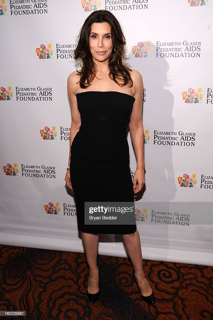 Actress Jo Champa attends the Elizabeth Glaser Global Champions of a Mothers Fight Awards Dinner at Mandarin Oriental Hotel on February 20, 2013 in New York City.