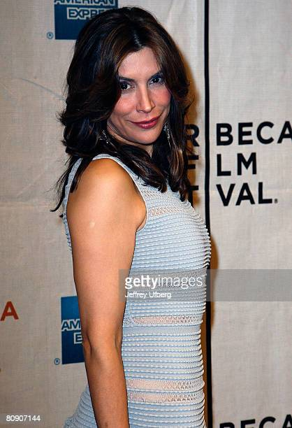 Actress Jo Champa attends the Premiere of 'Toby Dammit' at the 7th Annual Tribeca Film Festival on April 28 2008 in New York City