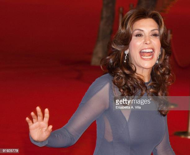 Actress Jo Champa attends the 'Triage' premiere during Day 1 of the 4th Rome International Film Festival held at the Auditorium Parco della Musica on...