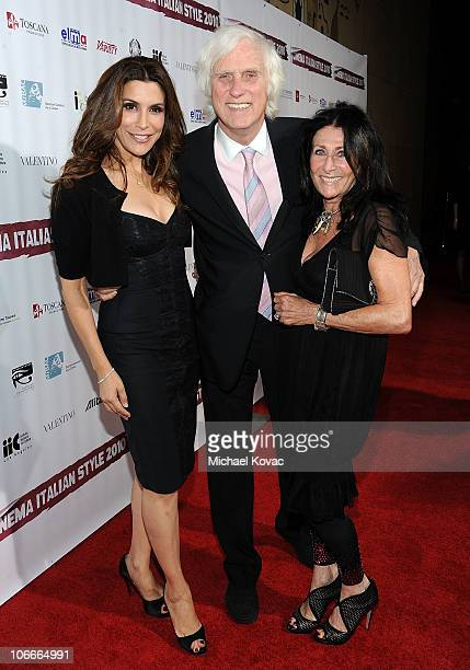 Actress Jo Champa photographer Douglas Kirkland and his wife Francoise attend the Cinema Italian Style Opening Night at the Egyptian Theatre on...